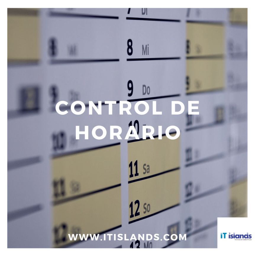 IT Islands - control de horarios