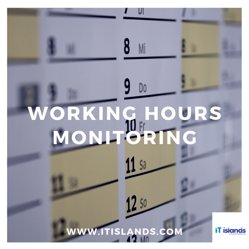 IT Islands - working hours monitoring